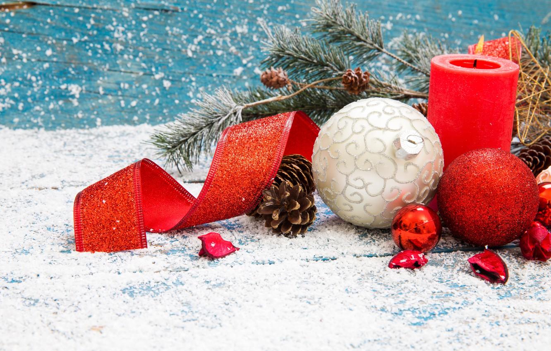 Photo wallpaper decoration, New Year, Christmas, Christmas, New Year, decoration, Merry