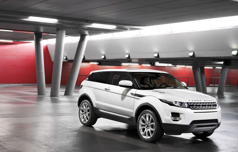Photo wallpaper Land Rover, Range Rover, Evoque, Ewok, land Rover, range Rover