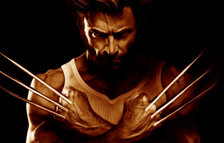Wallpaper Hugh Jackman X Men Logan Wolverine Marvel Comics