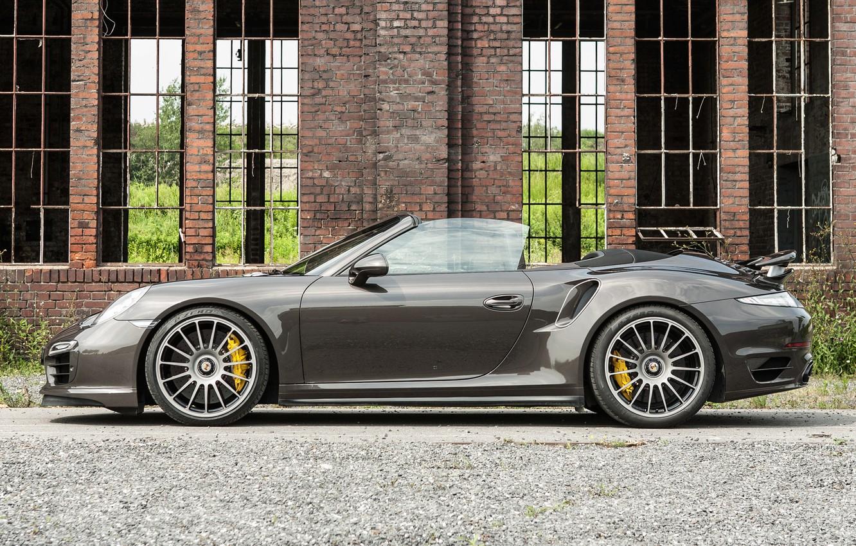Photo wallpaper 911, Porsche, Tuning, Edo Competition, Tur, S, 2014-16