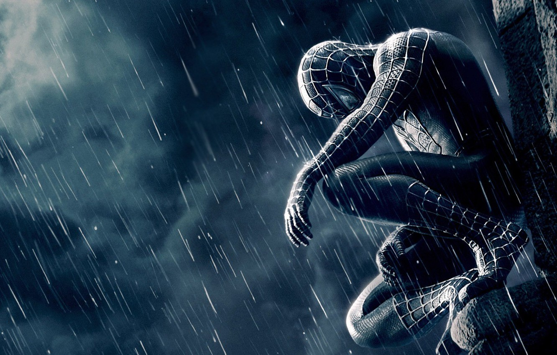 Photo wallpaper loneliness, the film, spider-man, Spiderman, spider-man