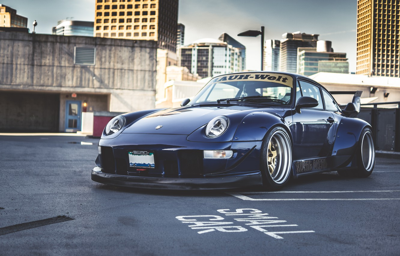 Photo wallpaper 911, Porsche, GT2, 993, Roughen-World