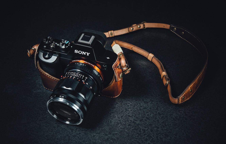 Wallpaper macro, camera, Sony images