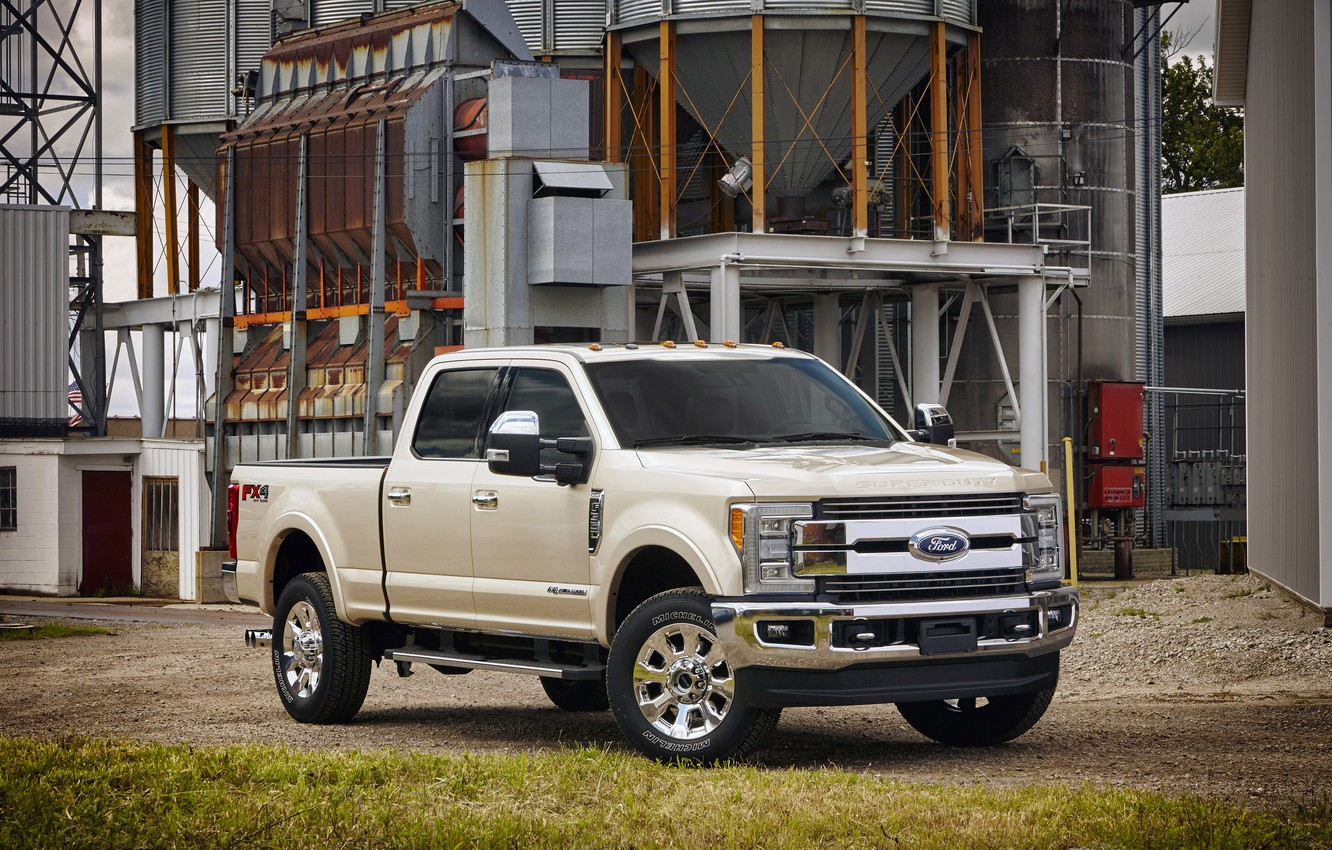 Photo wallpaper Ford, Ford, pickup, Super Duty, F-350, Crew Cab, 2016