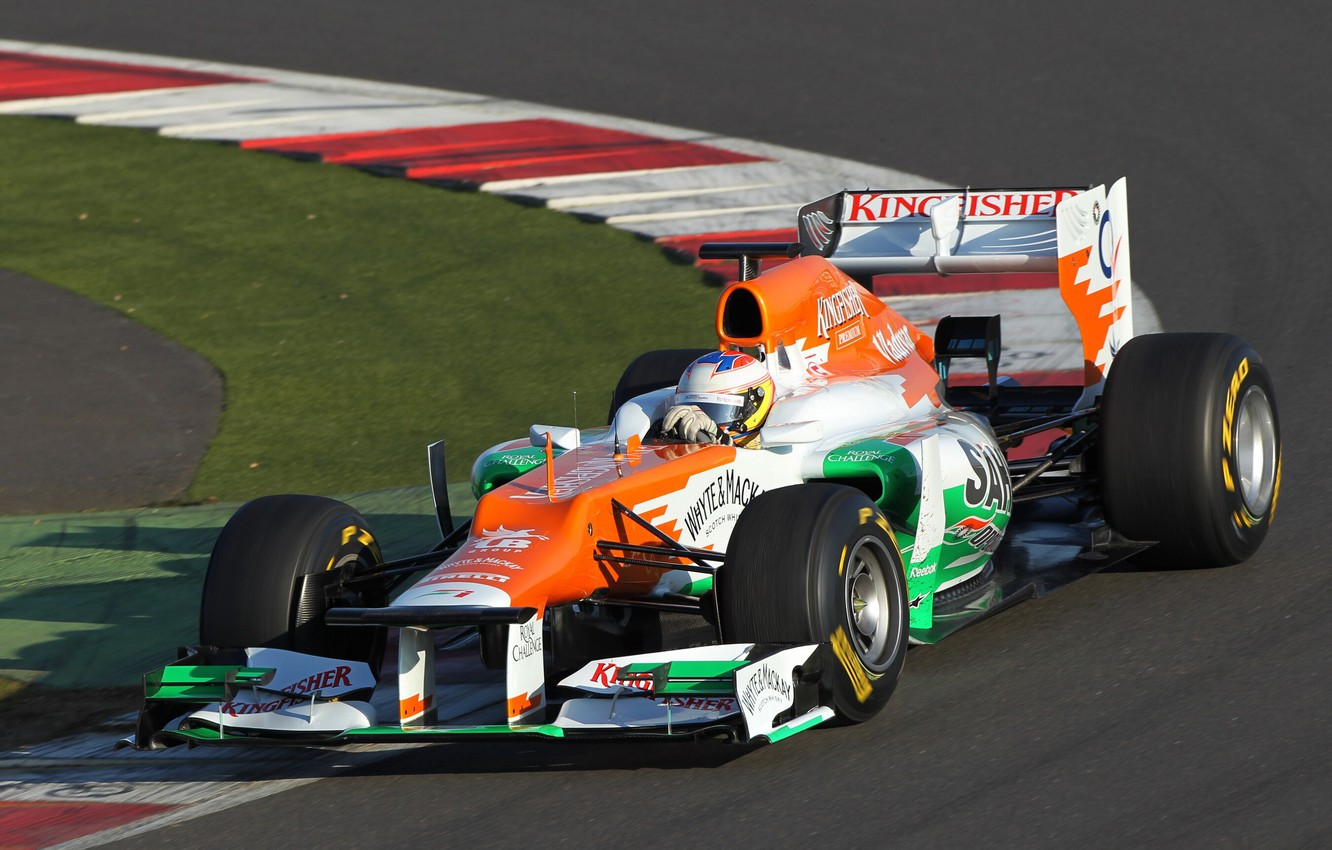 Photo wallpaper 2012, track, Force India