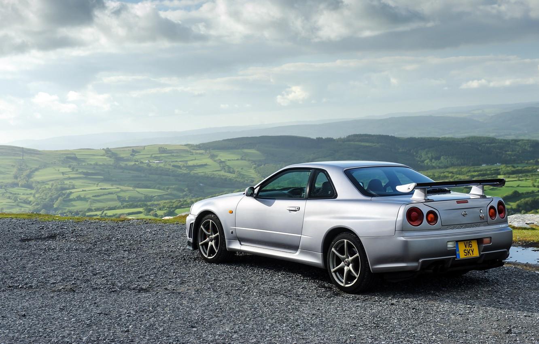 Photo wallpaper Nissan, GT-R, Nissan, Skyline, skyline, BNR34, V-spec, 1999
