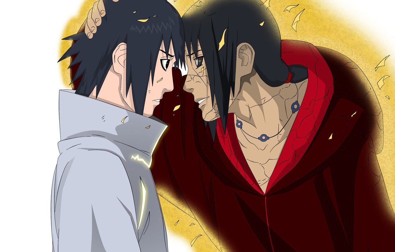 Photo wallpaper Sasuke, Sasuke, Naruto, Naruto, Itachi, Itachi