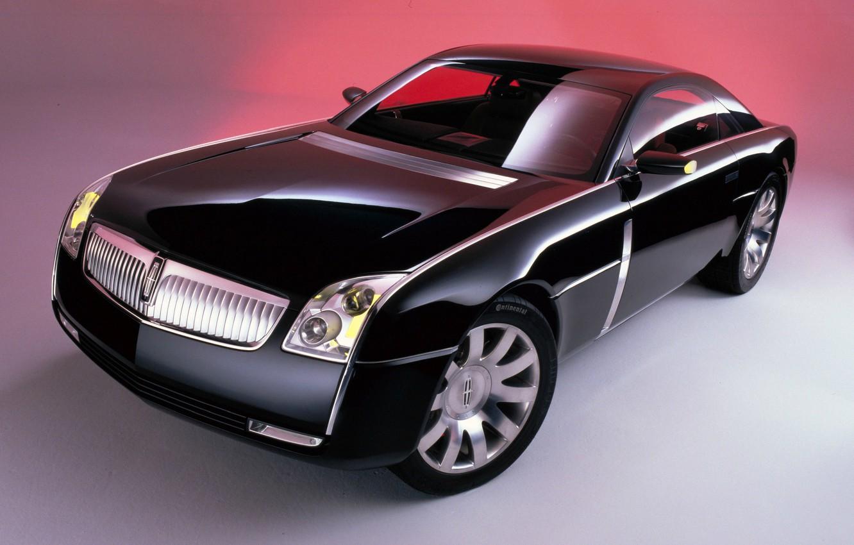 Photo wallpaper Black, Prestige, Lincoln MK 9 Concept