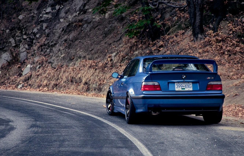 Wallpaper BMW, Coupe, blue, series, E36 images for desktop ...