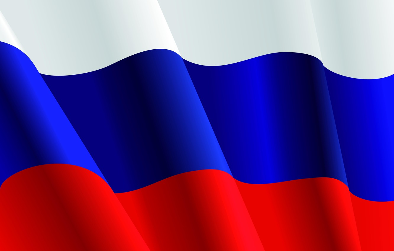Photo wallpaper white, blue, red, power, power, flag, Putin, Russia, tricolor