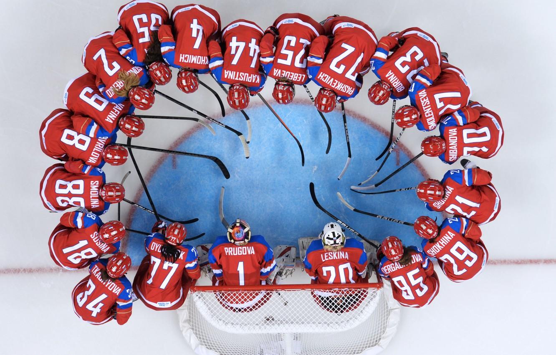 Photo wallpaper ice, women, round, gate, Olympics, team, hockey, Olympic games, Sochi 2014, sochi 2014, women's team
