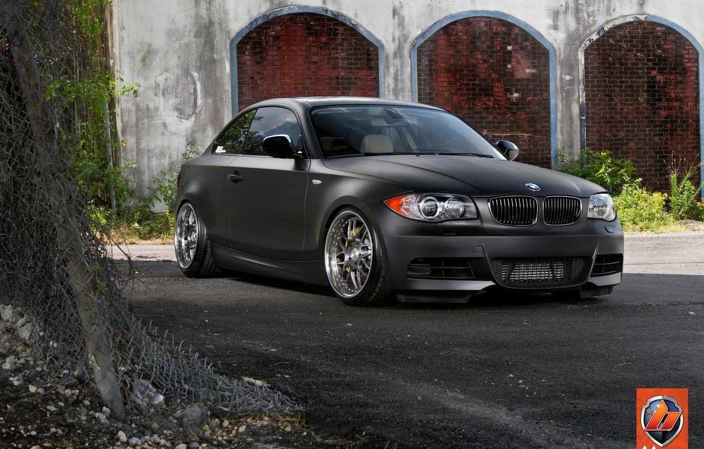 Photo wallpaper BMW, Wheels, 135, ISS Forged, Blonix