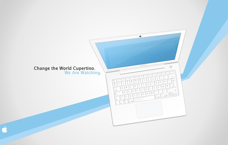 Photo wallpaper line, strip, the inscription, Wallpaper, apple, MacBook, picture, firm, brand