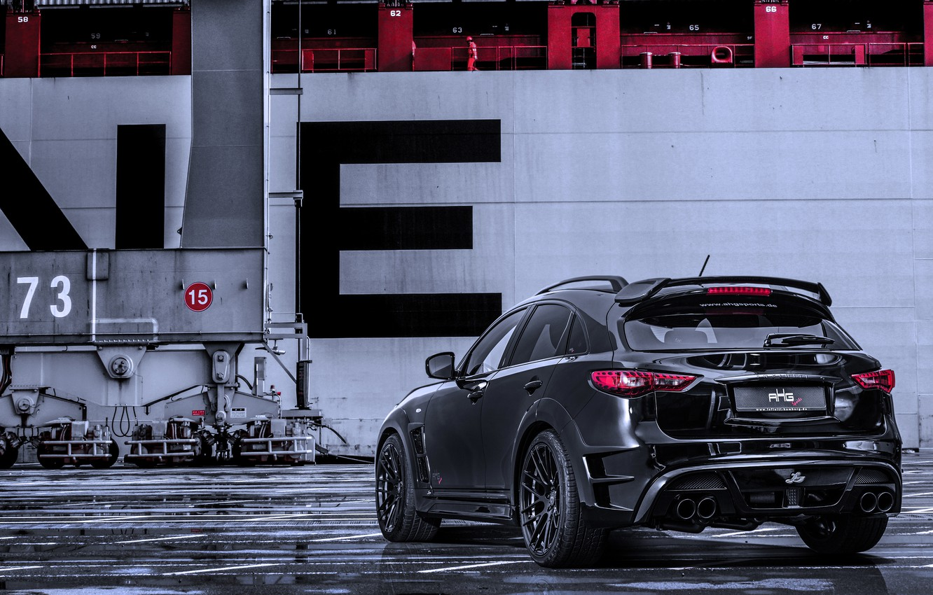 Photo wallpaper Infiniti, infiniti, 2015, QX70, S51, AHG Sports