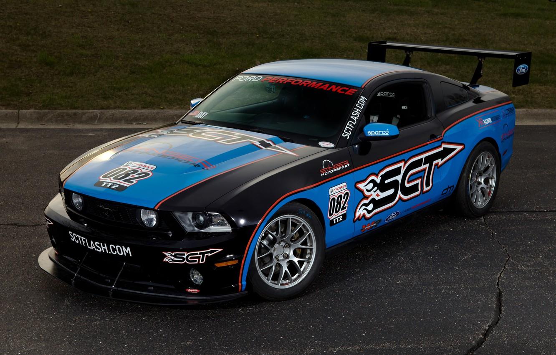 Photo wallpaper Mustang, Ford, Motorsport, Stinger