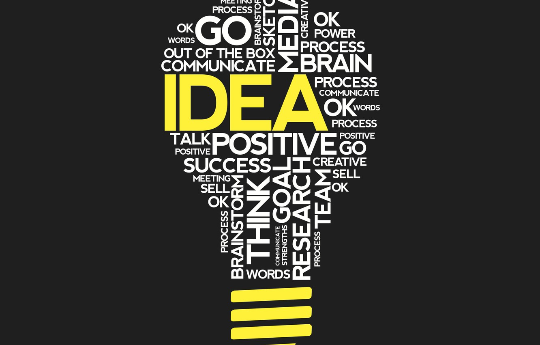 Wallpaper White Black Yellow Words Spotlight Images For Desktop Section Minimalizm Download