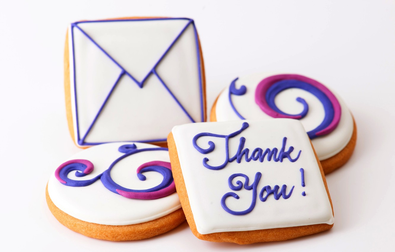 Photo wallpaper letter, food, cookies, dessert, food, sweet, sweet, thank you, letter, dessert, cookies, biscuits, thank you