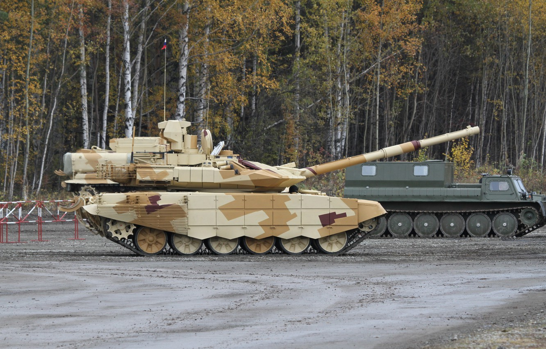 Photo wallpaper tank, Russia, Russia, armor, military equipment, tank, T-90 MS, UVZ