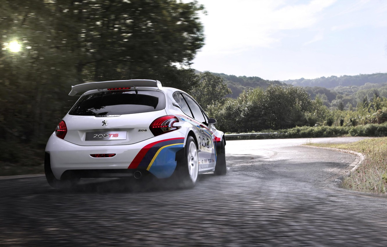Photo wallpaper auto, sport, race, Peugeot, 208, Peugeot 208 T16