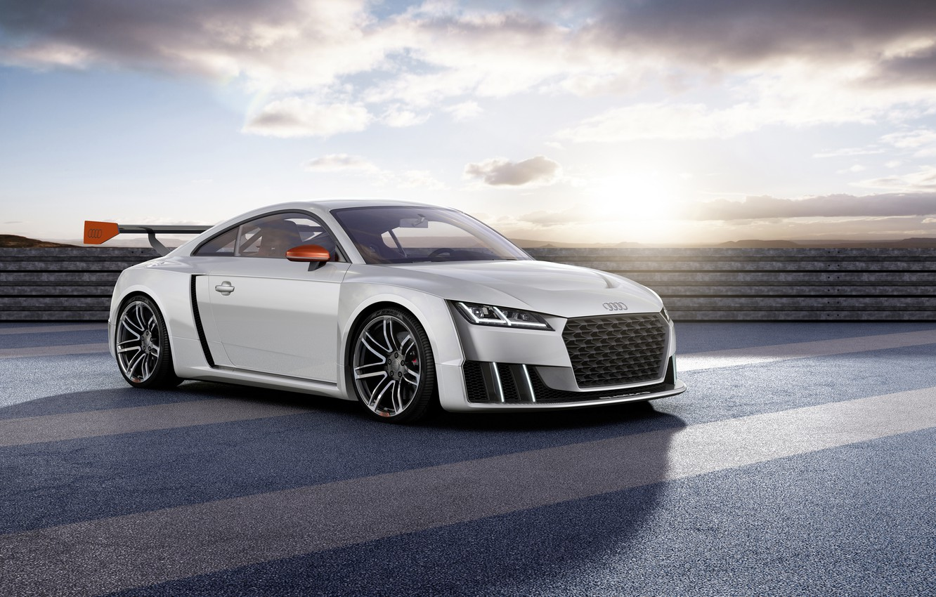 Photo wallpaper Audi, Audi, concept, turbo, 2015, clubsport