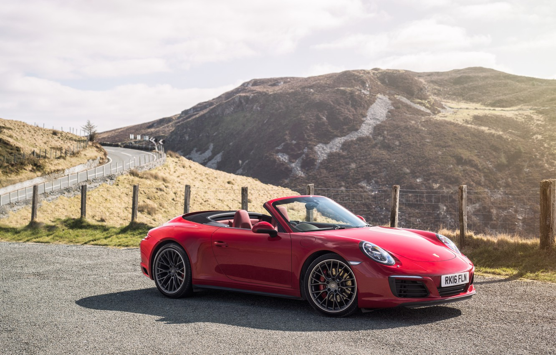 Photo wallpaper 911, Porsche, convertible, Porsche, Carrera, Cabrio, Carrera