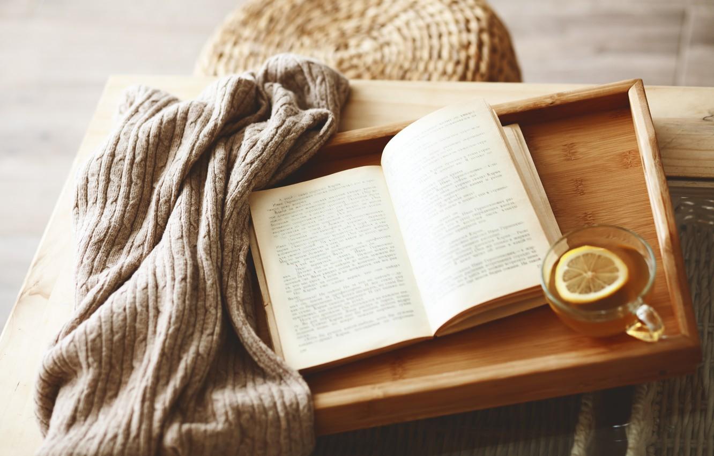 Обои book, cup, книга, tea, чай. Разное foto 9