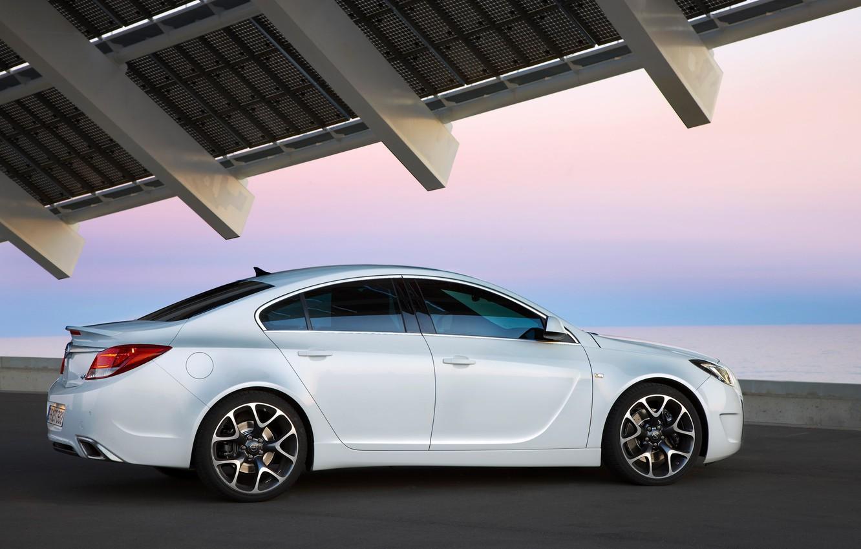 Photo wallpaper Insignia, Opel, white