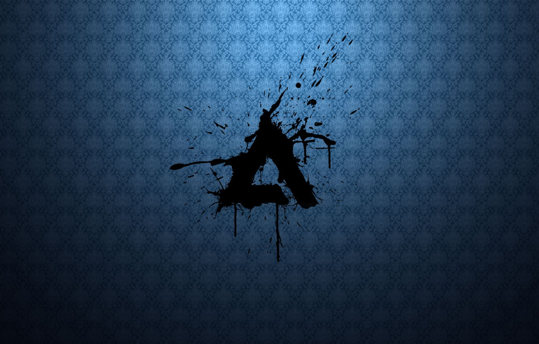 Photo wallpaper Music, Logo, Hi-Tech, AIMP, Minimalism, Artem Izmaylov Media Player