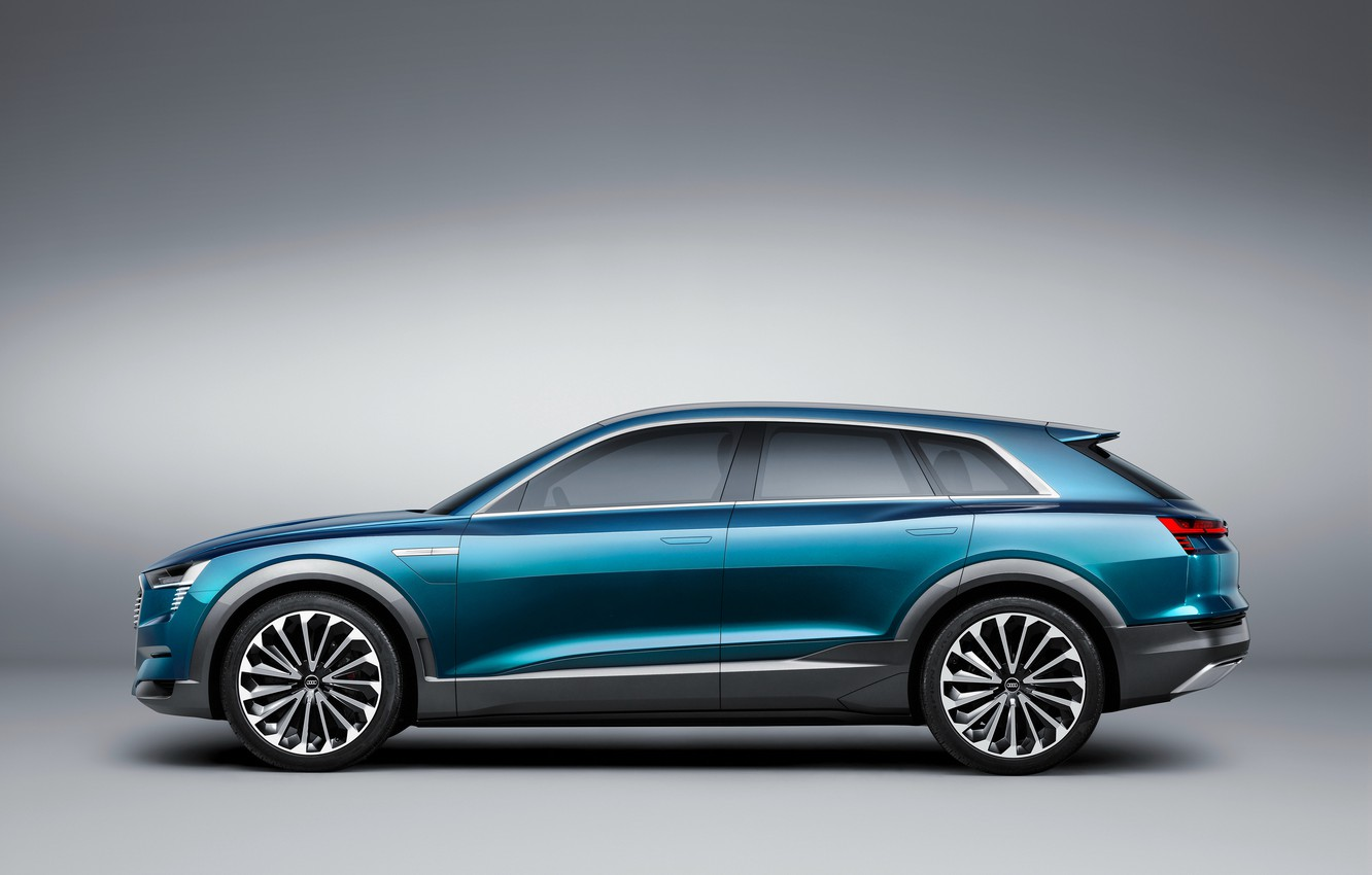 Photo wallpaper Audi, Audi, concept, the concept, e-tron, quattro, 2015
