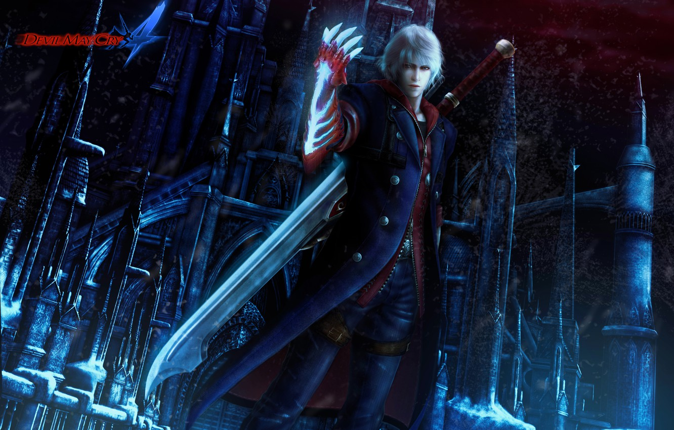 Wallpaper Demon Nero Devil May Cry 4 Capcom Images For