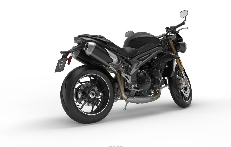 Photo wallpaper motorcycle, triumph, speed triple 2016