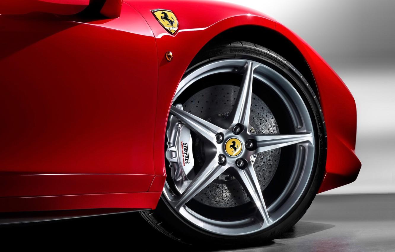 Photo wallpaper Wallpaper, Machine, Ferrari, Car, Wallpapers