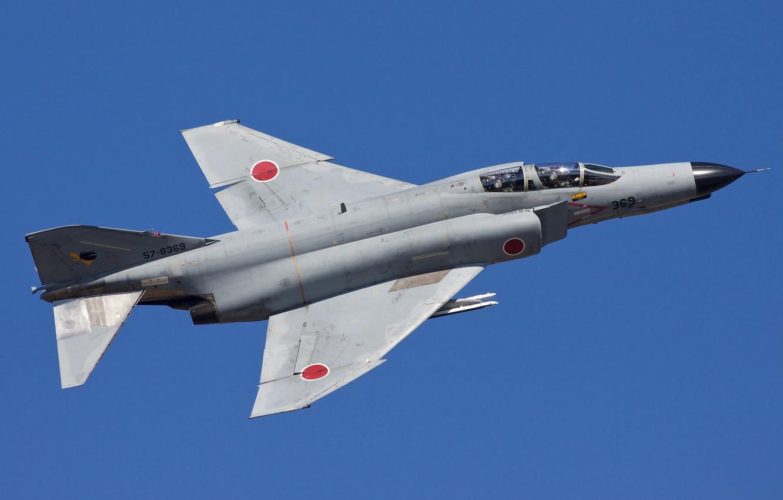 Photo wallpaper fighter, multipurpose, Phantom II, Phantom II, Mitsubishi F-4EJ