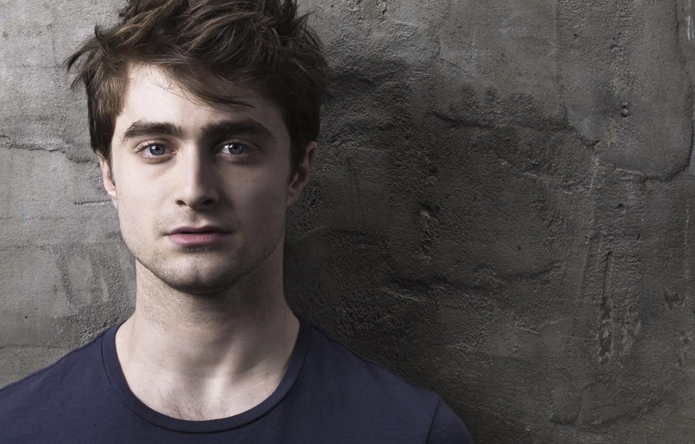 Photo wallpaper eyes, face, Harry Potter, Daniel Radcliffe, Daniel Radcliffe