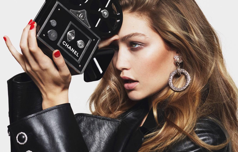 Photo wallpaper model, Gigi Hadid, Gigi Hadid