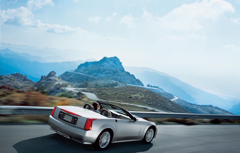 Photo wallpaper auto, Cadillac, Cadillac, XLR, 2009, cruise