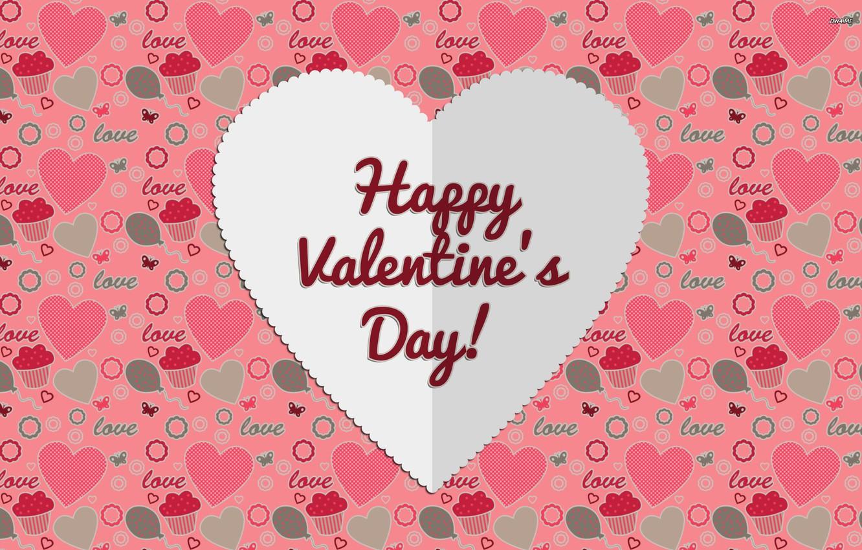 Photo wallpaper love, rose, heart, romantic, hearts, Valentine's Day, bow, 2015