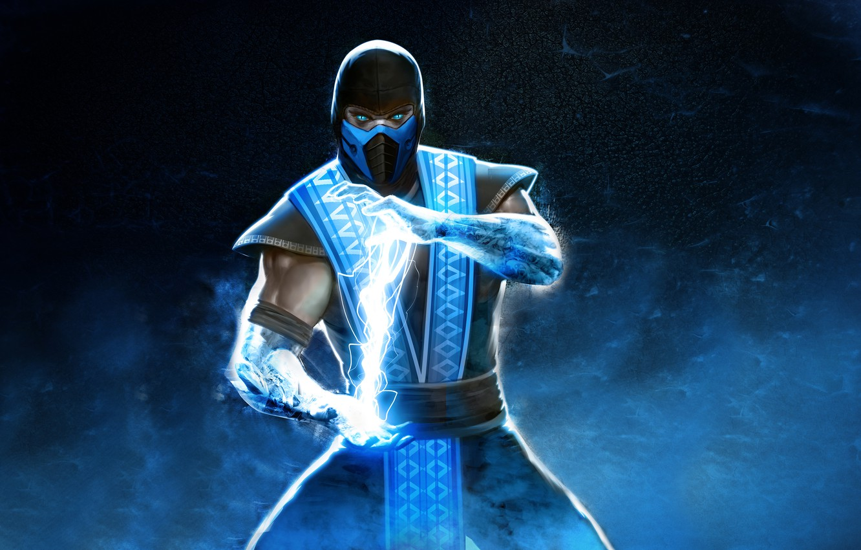 Photo wallpaper cold, ninja, Mortal Kombat, Sub-Zero, Sub-Zero