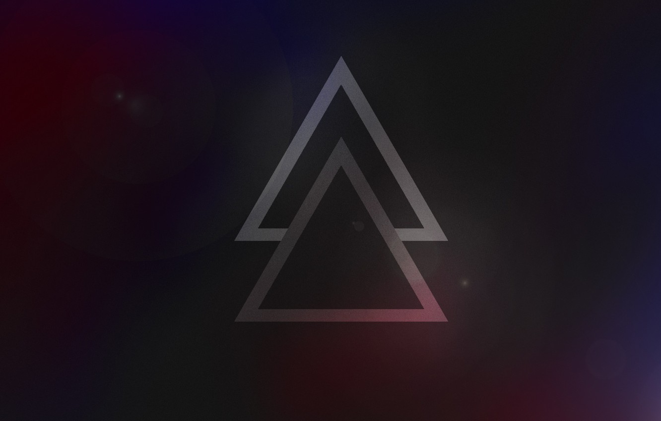 Wallpaper Triangles Strong Minimal Wallpapers Light Police