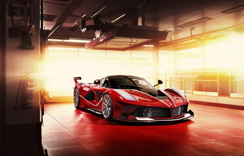 Photo wallpaper Ferrari, supercar, Ferrari, 2015, FXX K