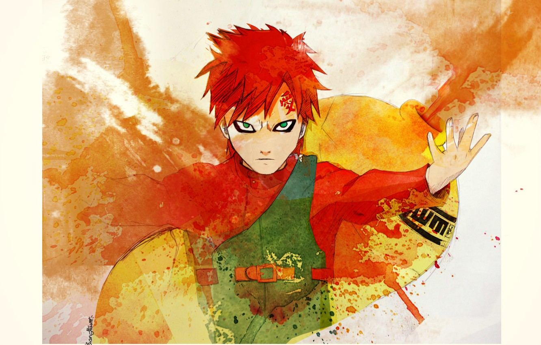 Wallpaper Sand Naruto Anime Art Kazekage Gaara Images