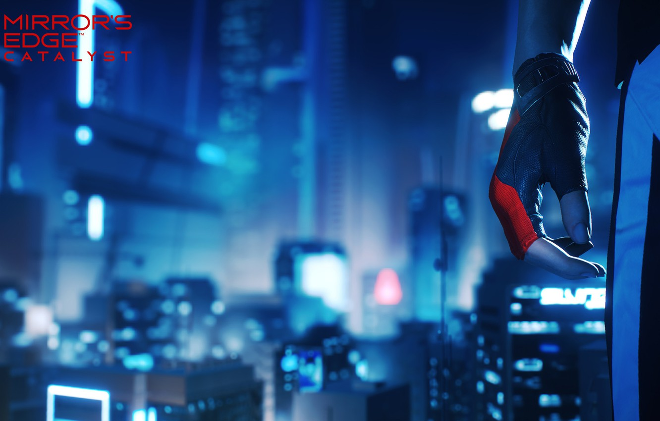 Photo wallpaper girl, the city, the game, Mirror's Edge: Catalyst