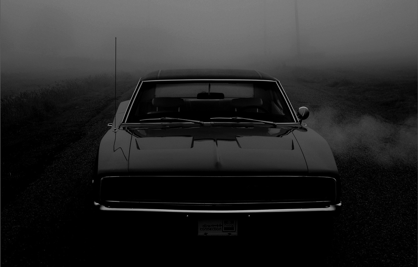 Photo wallpaper Machine, Dodge, Charger, 1968, R/T, Muscle Car
