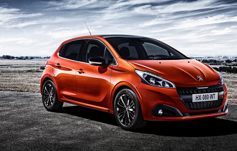 Photo wallpaper Peugeot, Peugeot, 5-door, 208, 2015
