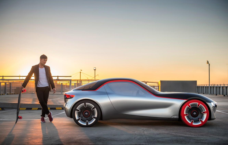 Photo wallpaper Concept, the concept, Opel, Opel