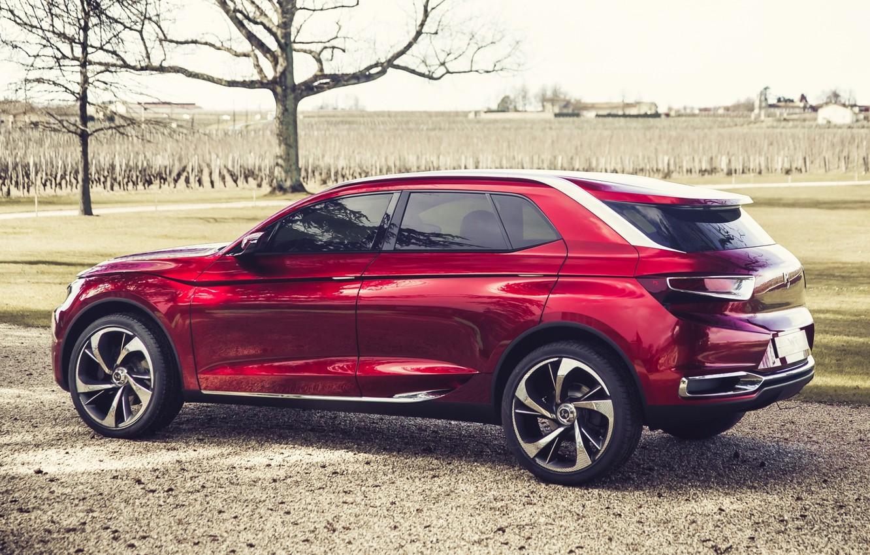Photo wallpaper Concept, Citroën, the concept, rear view, Citroen, Wild Rubis