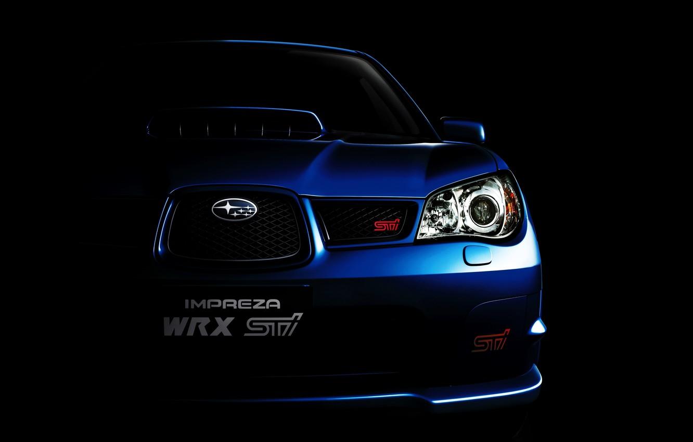 Photo wallpaper background, 2006, Subaru, Impreza, WRX, Subaru, Impreza, STi