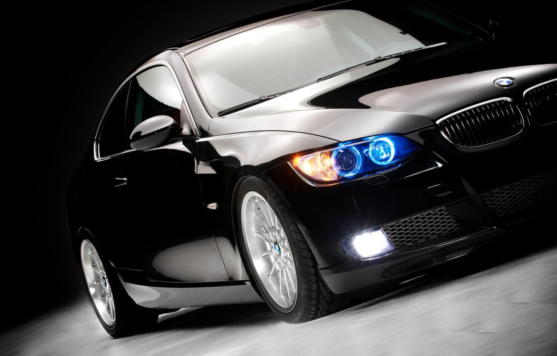 Photo wallpaper lights, BMW, BMW, 335i, E92