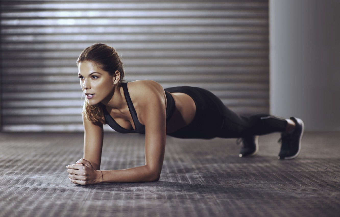 Wallpaper Woman Pose Workout Fitness Images For Desktop Section Sport Download