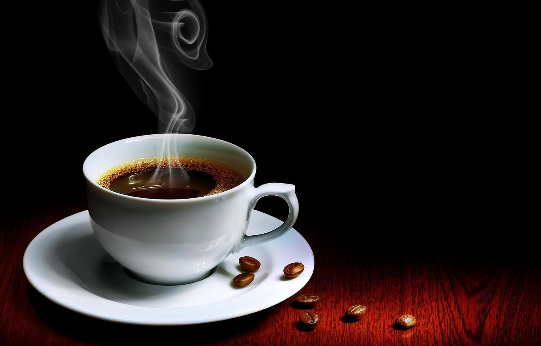 Photo wallpaper coffee, Cup, aroma, grain, Coffee